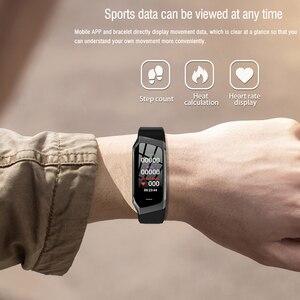 Image 5 - Gelée peigne montre intelligente pour Android IOS tension artérielle moniteur de fréquence cardiaque Sport Fitness montre Bluetooth 4.0 hommes femmes Smartwatch
