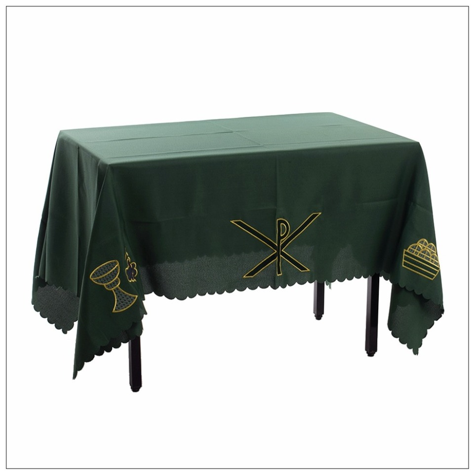 1pc Church Altar Table Cloth Communion Table Runner With Px Chalice Pattern Aliexpress
