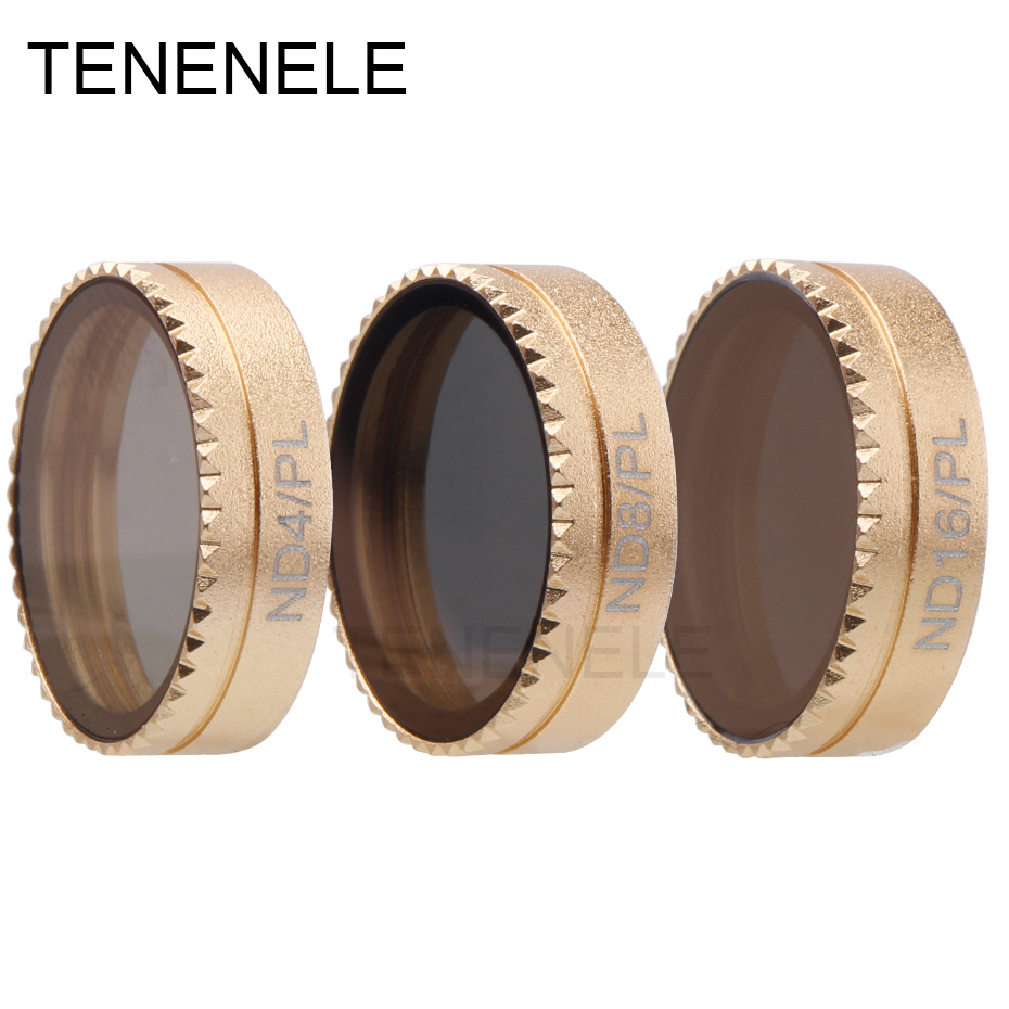 TENENELE Drone ND Polarizing Lens Filter For DJI Mavic Air ND4/PL ND8/PL ND16/PL Polarizing Camera Filters Set Accessories