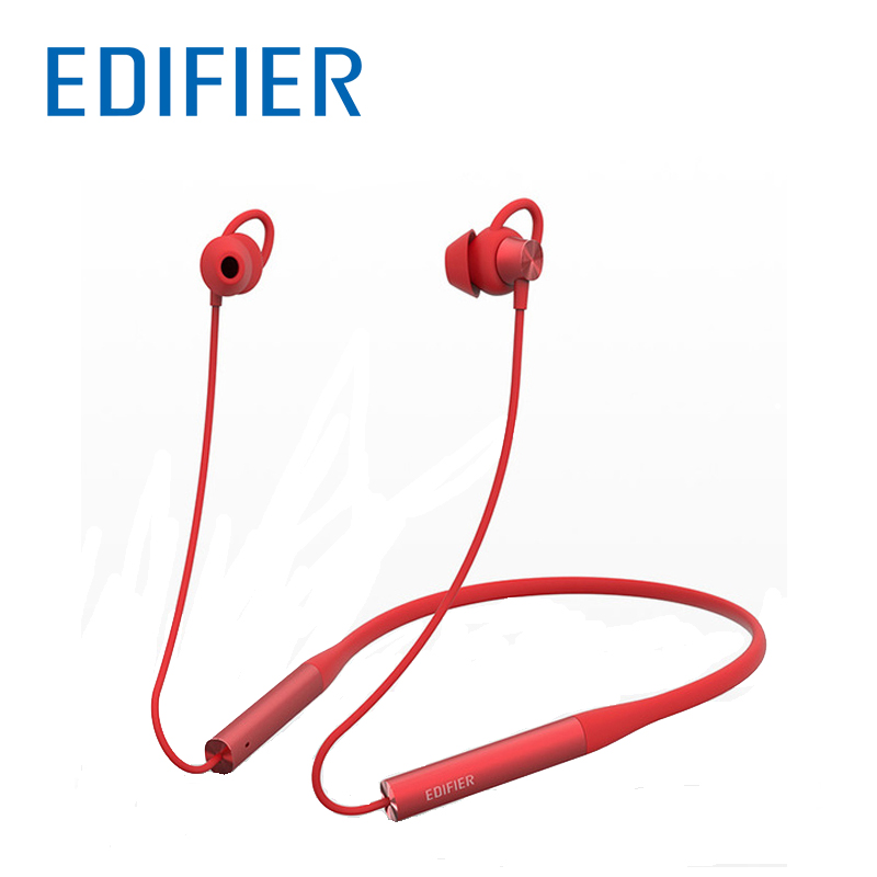 Edifier W310bt Bluetooth Earphone Wireless Bluetooth 4.2 In-ear Stereo Earphones U-shape Neckband Design Soft Material 100% Original