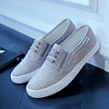 2016 women canvas shoes low breathable women solid color flat shoes casual shoe