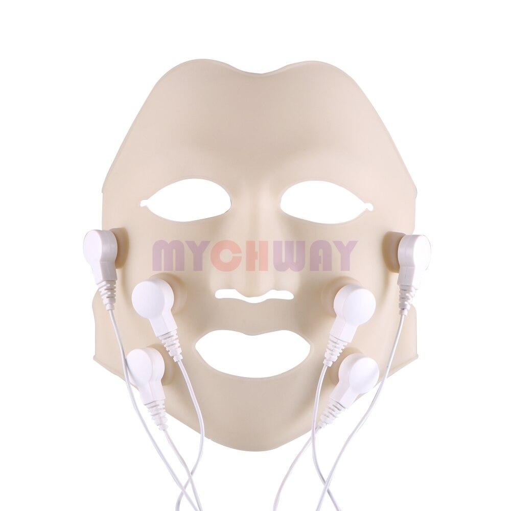 Free Gift !!! Christmas Promotion !!! LED Vibration Facial Mask Photon Therapy Skin Rejuvenation Face Whiten Massager
