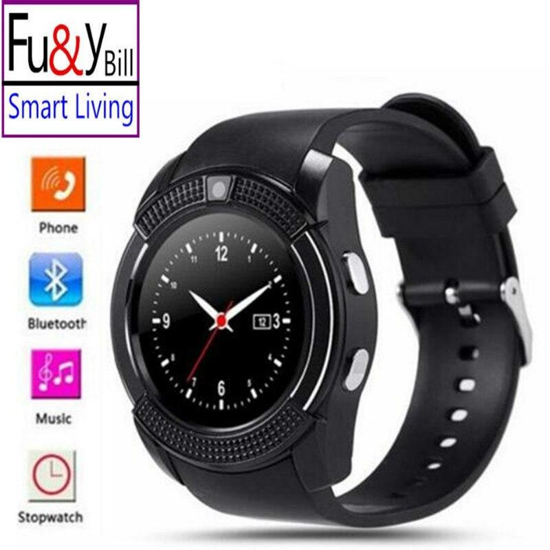 Original Sport Watch Full Screen Smart Watch V8 For font b Android b font Match Smartphone
