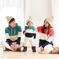 Fashion Family Clothing Hoodies Clothes Family Look Mother/Mom Daughter Clothes Father Son Matching Clothing Family Style Set