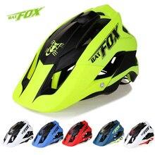 BATFOX Outdoor Sports Helmet Men Cycling Helemt Women Mountain Road Bike Helmet PC+EPS Bicycle MTB Helmet 56-63cm