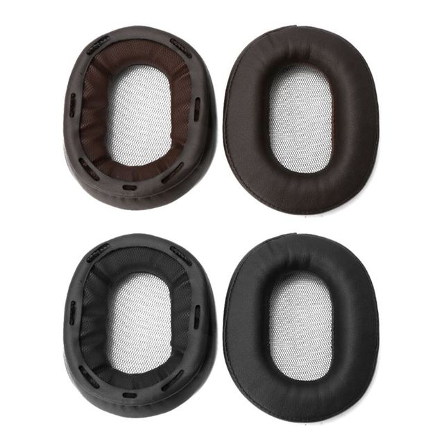 Almohadillas de repuesto para auriculares, almohadillas de repuesto para auriculares SONY MDR 1R MK2 1RBT 1ADAC MDR 1A 1ABT Protein, almohadilla de cuero más suave, 2020