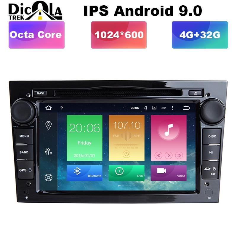 2din Android Dvd-Player Radio Gps Opel Corsa Dab Wifi Signum Tigra Vectra Octa-Core 1024--600