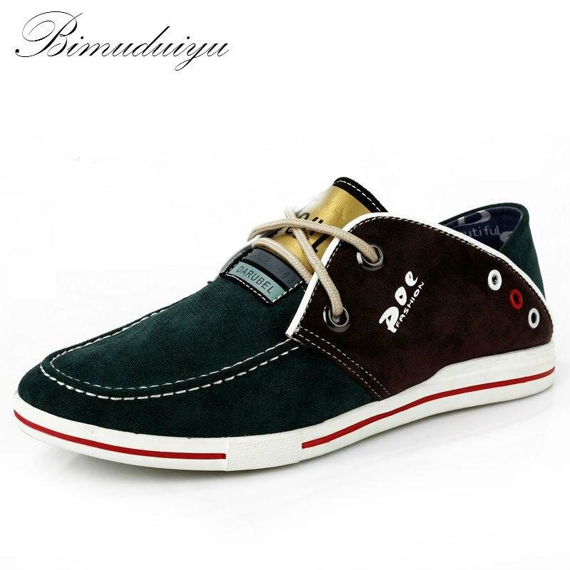 Los zapatos de tela códigos transpirables con personalidad del color del ocio pa