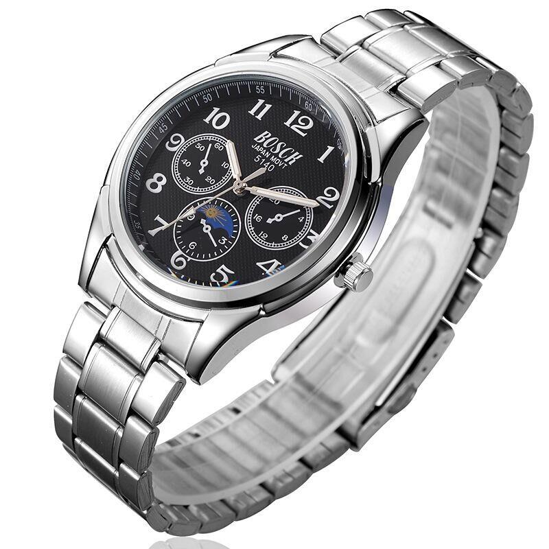 2016 BO 5140 Watch Men Quartz Watch Luxury Brand Full Steel Men s Watch Clock Male