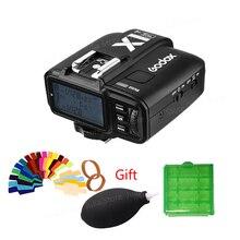 GODOX originais X1T-C/N/S/F/O Disparador de Flash TTL 2.4G Sem Fio LCD 1/8000 s HSS 32 Canais Transmissor Gatilho Strobe