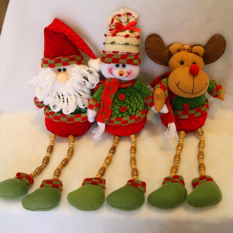 Muecos Para Arbol De Navidad. Great Parej Noel Amigurumi Adornos De ...