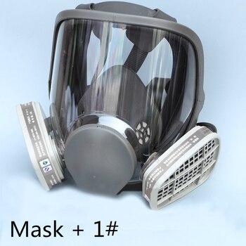 Fghgf 6800 Gaz Maskesi Eklemek 3 4 Için Kartuş Takım Tam Yüz Yüz