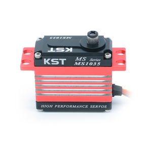 Image 2 - KST MS1035 12kg Metal Gear High Speed Digital Servo Motor for 550 700 Class Helicopter Tail Robot Car Drone Boat
