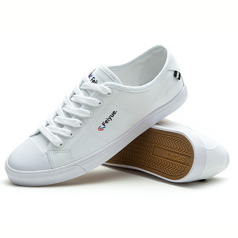 USHINE EU34 44 College Style Canvas Classic INS Street Beat TaiChi KungFu Shoes France FeiYue Sneakers