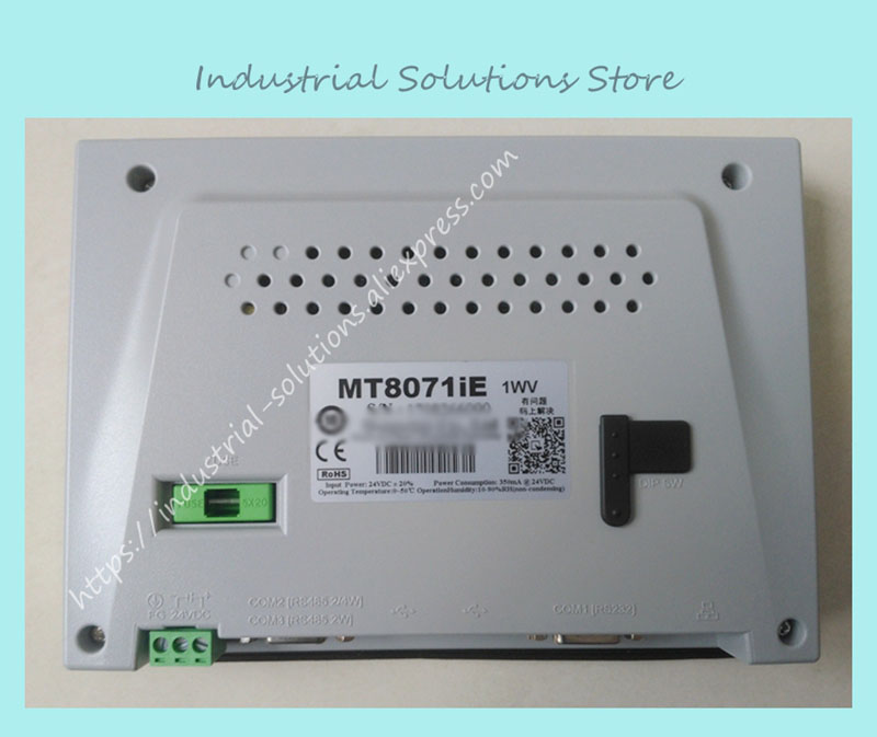 New Original MT8071IE HMI Touch Screen 7 inch 800*480 Ethernet 1 USB Host