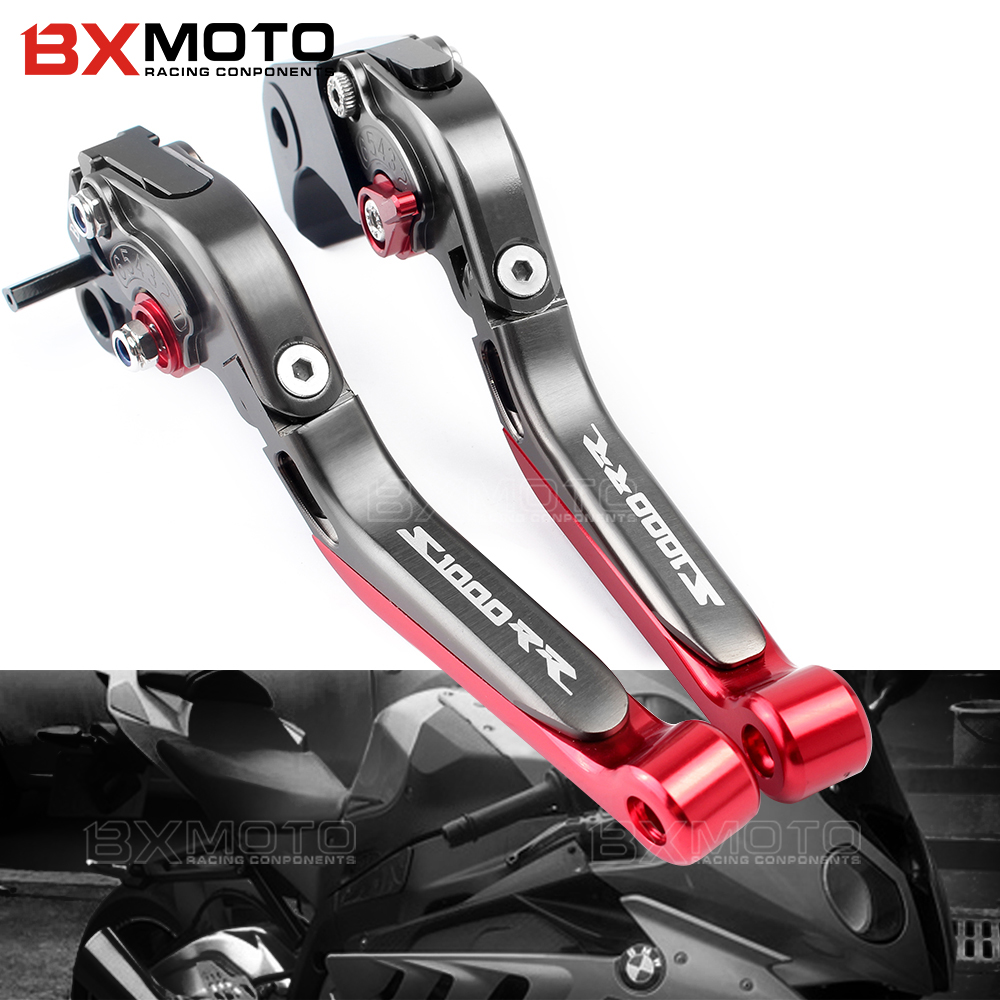 for BMW S1000RR S 1000RR S 1000 RR S1000 RR 2015 2016 2017 accessories Motorcycle cnc adjustable Foldable brake clutch levers free shipping for ducati multistrada 1200 s m1100 s evo motorcycle accessories cnc adjustable folding brake clutch levers red