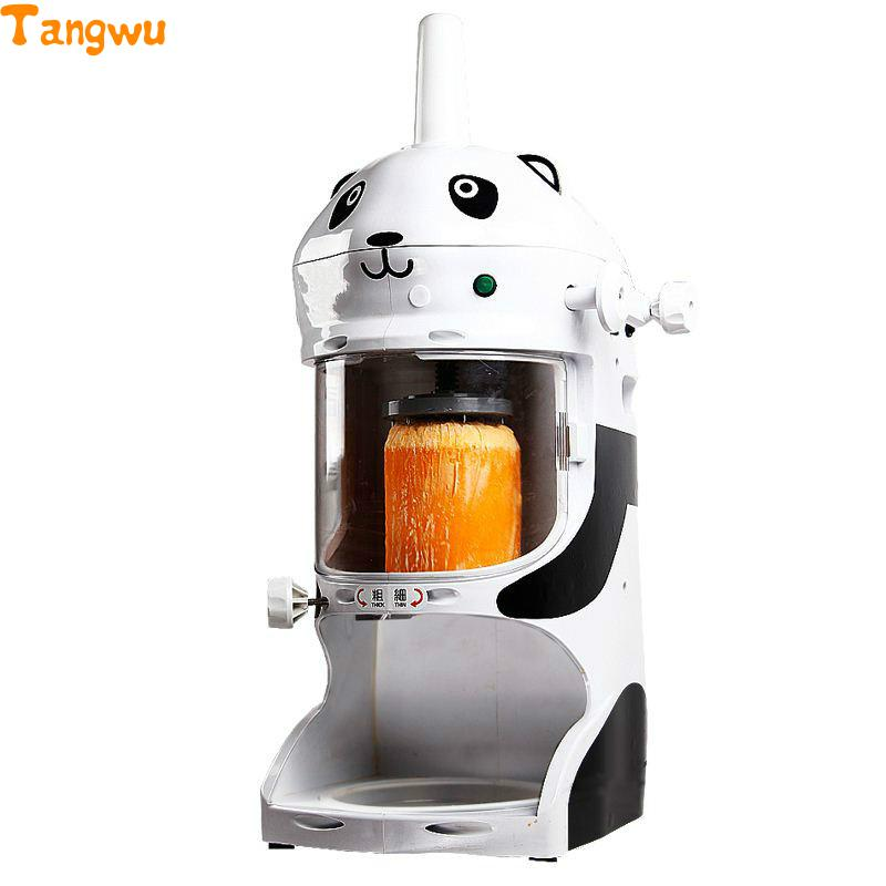 Free shipping Commercial ice machine continuous electric snowflake crusher shaved Continuous ice machine Ice Crushers