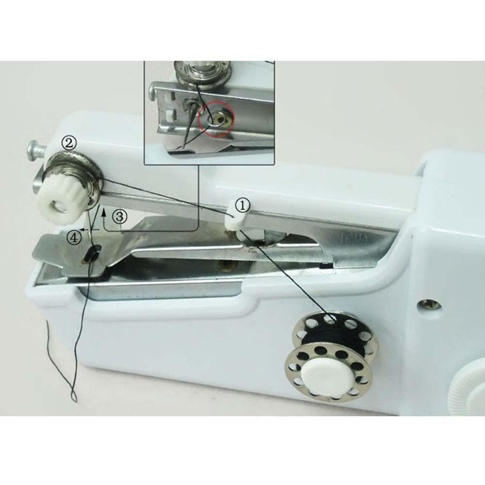 Портативная швейная машинка handy stitch.