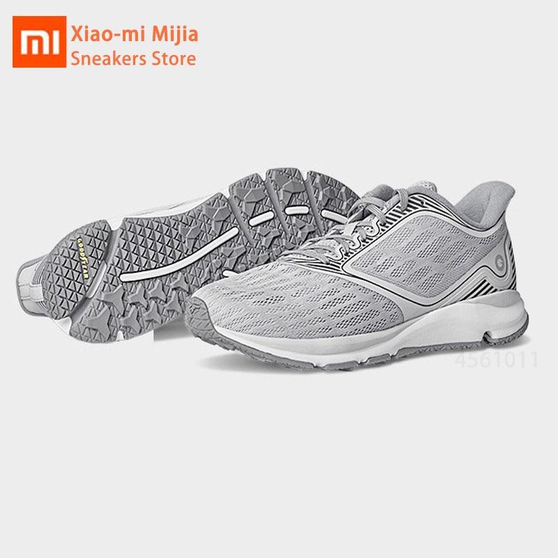 Xiaomi Mijia Amazfit antilope Sports de plein air chaussures de course hommes baskets respirant soutien puce intelligente chaussures de Sport bas