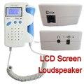 Hot!! Doppler Fetal Monitor de Batimento Cardíaco Do Bebê + Backlight display LCD Bateria Recarregável