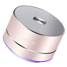 LENRUE Портативный Беспроводной Bluetooth Динамик стерео Портативный светодио дный Динамик s со встроенным микрофоном MP3 мини Subwoof Smart Колонка громкий Динамик колонка