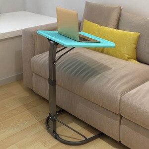 Image 4 - U 모양 플라스틱 pc 테이블 컴퓨터 책상 학습 소파 노트북 침대 테이블은 20kg 조정 가능한 연구 밀도 보드 데스크를 곰 수 있습니다