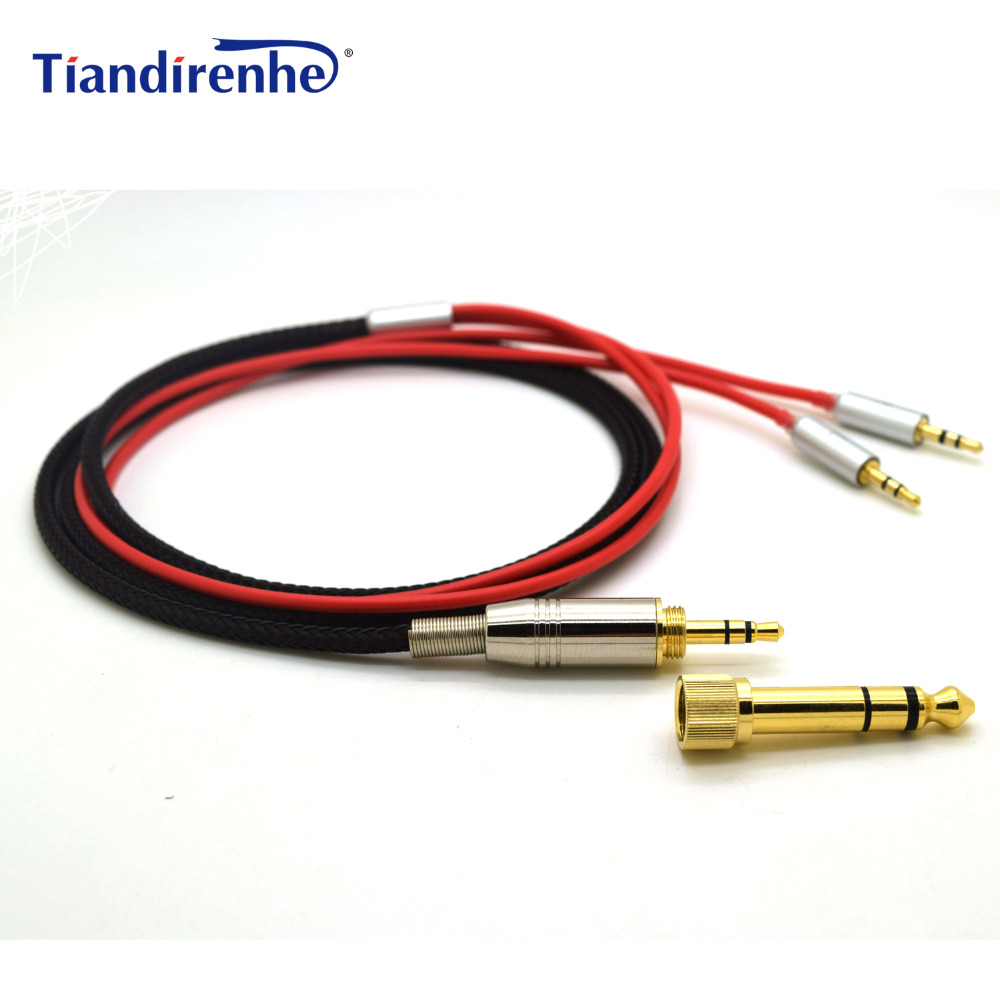 Silver Audio Cable with mic For Hifiman Edition X V2 SUSVARA Handel XF-200