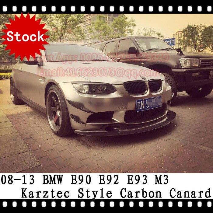 M3 Carbon Fiber Canard E90 E92 E93 M3 Karztec Front lip spoiler front splitter side spoiler Design For BMW <b