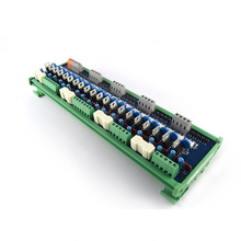 PLC AC amplifier board transistor 20 way AC output original thyristor optocoupler relay isolation control board new original 1771 oad plc 10 138v digital ac output module