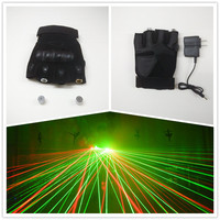 Wholesale Hot Selling Popular Laser Dancing Party Laser Gloves With 532nm 2 Pcs Red Green Lasers