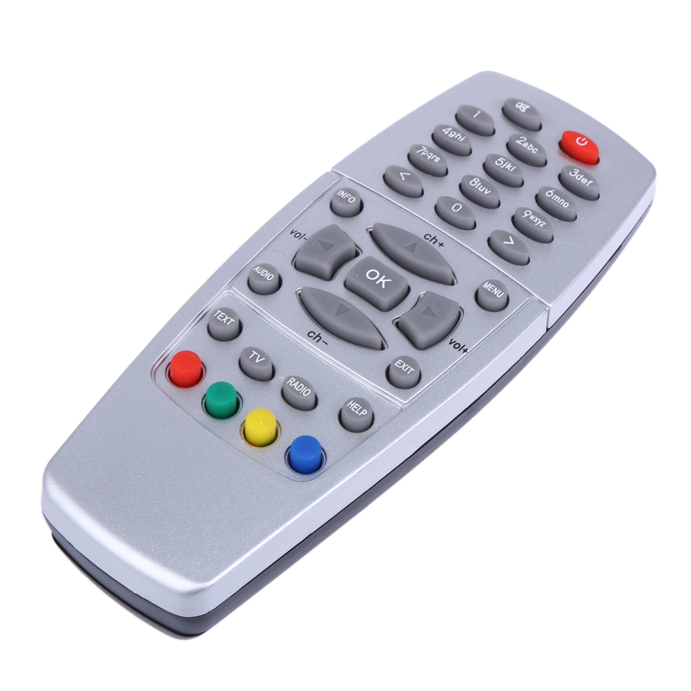 Replacement Remote Control Silver For DREAMBOX 500 S/C/T DM500 Satellite Receiver DVB 2011 Version