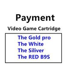 Для видеоигры картридж (золото pro, белый, Siliver и красный B9S)