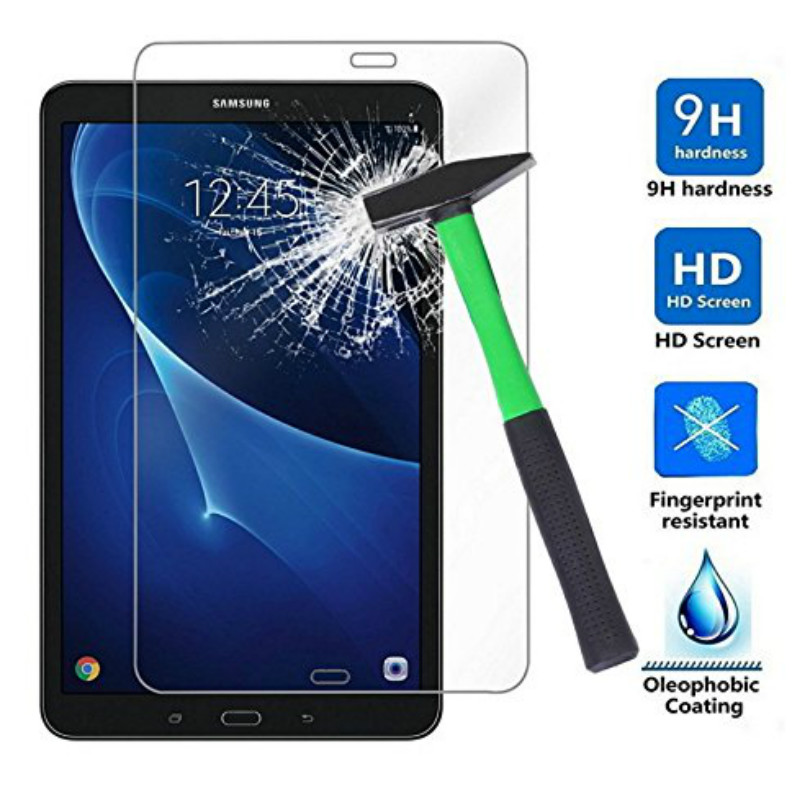 Tab A Tempered Glass Screen Protector For Samsung Galaxy Tab A 7.0 8.0 9.7 10.1 2016 T580 T585 A6 T280 T350 T550 P580 Tablet