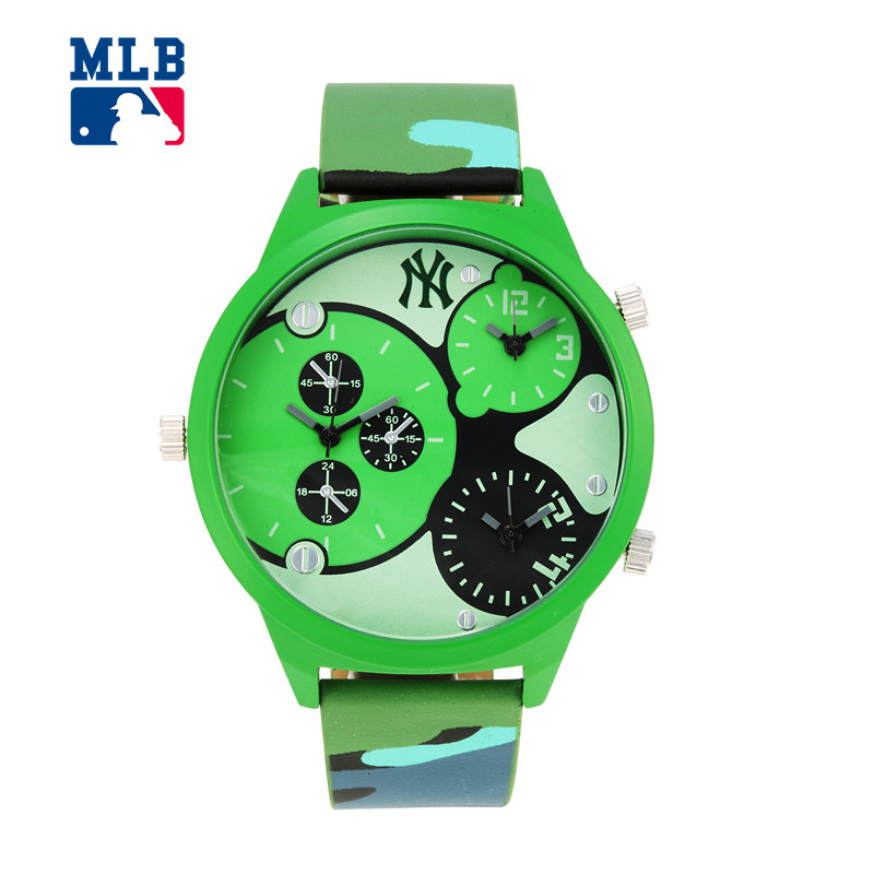 MLB YH series fashion American brand sport couple watch stainless steel waterproof quartz for men and women watch YH001 mlb time square series fashion sport couple watch waterproof wristwatch leather band quartz watch for men and women sd008