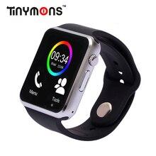 Бесплатная доставка A1 Bluetooth Смарт часы наручные часы Спорт Шагомер с SIM Камера Smartwatch для Android-смартфон России T15