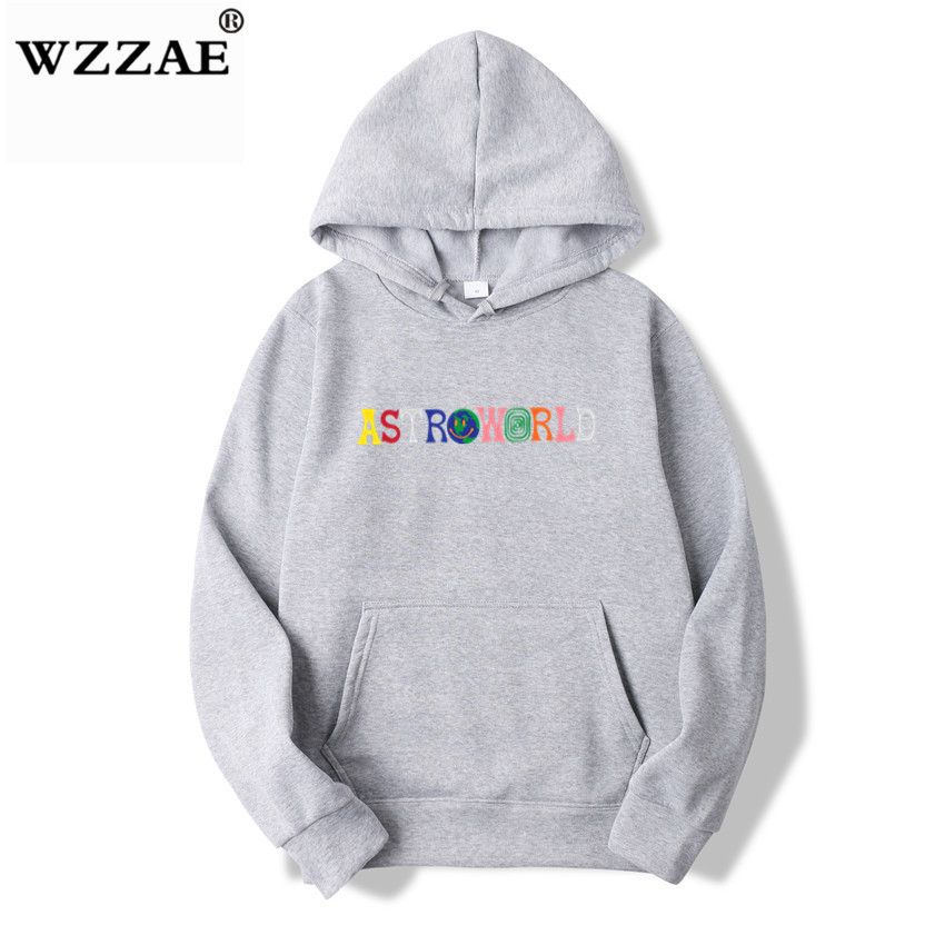 TRAVIS SCOTT ASTROWORLD WISH YOU WERE HERE HOODIES fashion letter ASTROWORLD HOODIE streetwear Man woman Pullover Sweatshirt 22