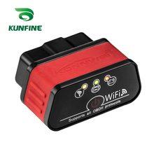 Kunfine icar2 automotivo obd2 elm327 icar 2 kw903 wifi obd 2 scanner de código interface de ferramenta de diagnóstico para ios iphone ipad android