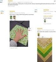 hoomall 7 шт. хлопок ткань ручной работы вышивание домашний декор материал ткань с шторы для пэчворка фетр для рукоделия поделки 25х25 см