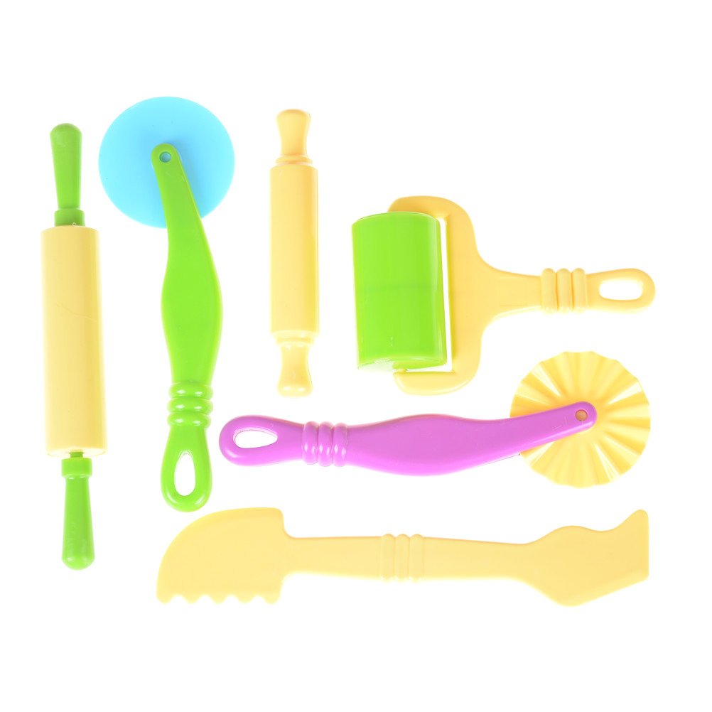 Learning & Education Toys Color Play Dough Model Tool Toys Creative 3D Plasticine Tools Playdough Set, Clay Moulds Deluxe Set