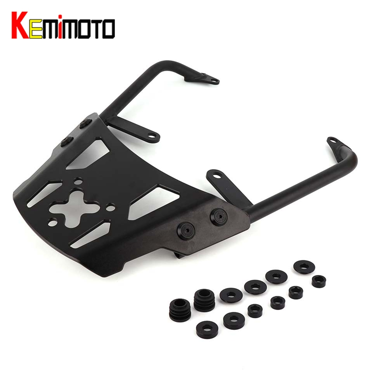 KEMiMOTO VERSYS 650 Motorcycle Accessories Rear Carrier Luggage Rack For Kawasaki VERSYS650 2010 2011 2012 2013 2014 for honda crv 2012 2013 2014 2015 2016 aluminium alloy carrier roof rack side rails bars outdoor travel luggage 2pcs car styling