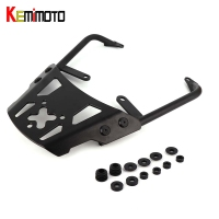 KEMiMOTO VERSYS 650 Motorcycle Accessories Rear Carrier Luggage Rack For Kawasaki VERSYS650 2010 2011 2012 2013 2014