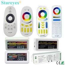 Mi светильник RF 2,4G светодиодный пульт дистанционного управления Одноцветный диммер CCT RGB RGBW RGB+ CCT FUT035 FUT036 FUT037 FUT038 FUT039 FUT096