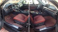 Car Car Accessories Styling Custom Foot Mats 3D Luxury Leather Car Floor Mats For Lexus GX400 GX460 GX470 7 Seats 2010 2017