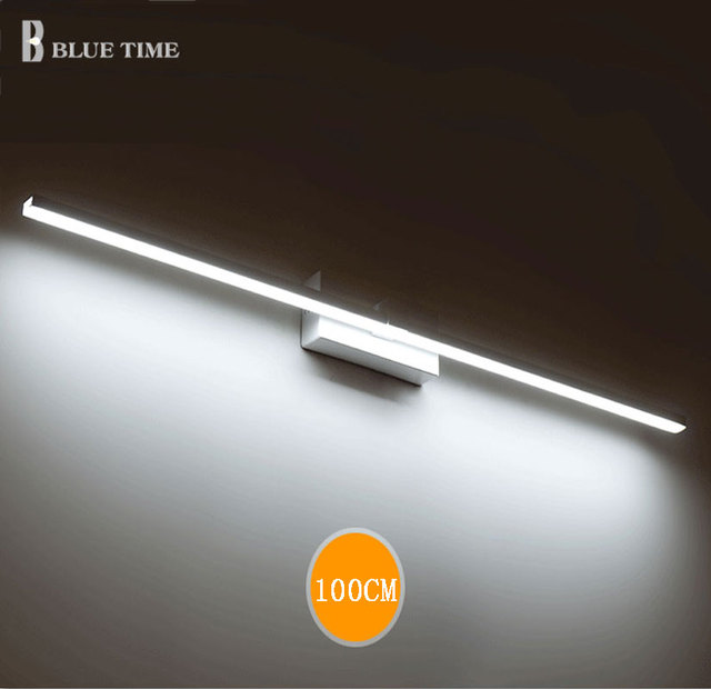 BLUE TIME 120cm 100cm 80cm 60cm LED Mirror Front Light Bathroom Led Wall  Light Wall Mounted