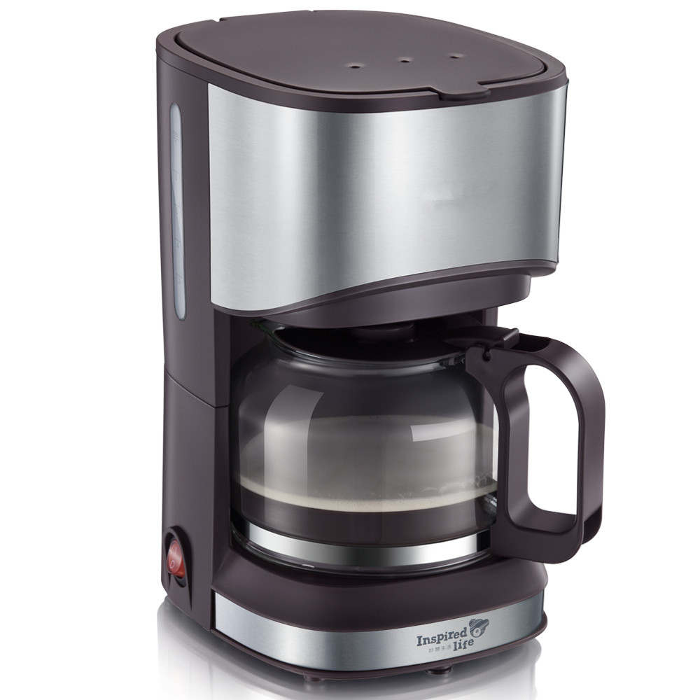 American coffee machine small household automatic drip machine home tea-in Coffee Makers from ...