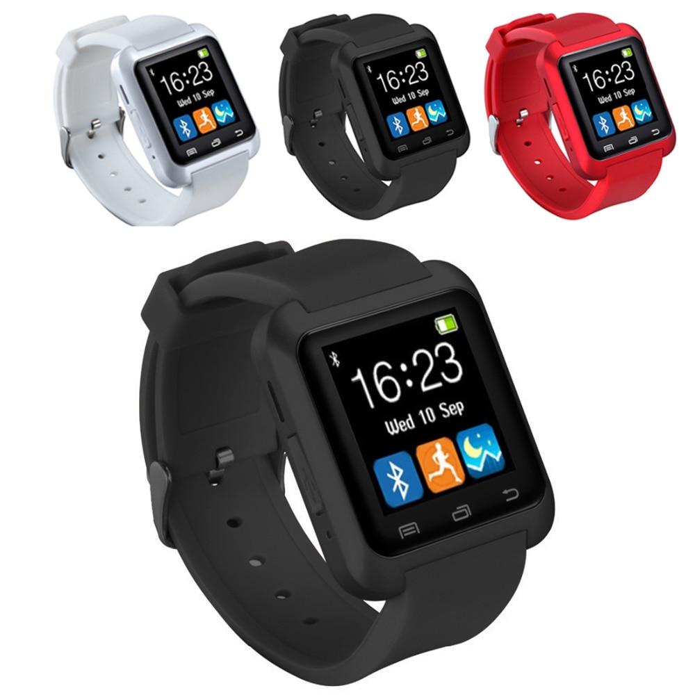 цена на New Smartwatch Bluetooth Smart Watch U8 for iPhone IOS Android Smart Phone Wear Clock Wearable Device Smartwach PK U8 GT08 DZ09