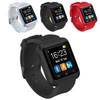 Nuovo Smartwatch Bluetooth Intelligente Orologio U8 per il iPhone IOS Android Smart Phone di Usura Orologio Indossabile Dispositivo Smartwach PK U8 GT08 DZ09