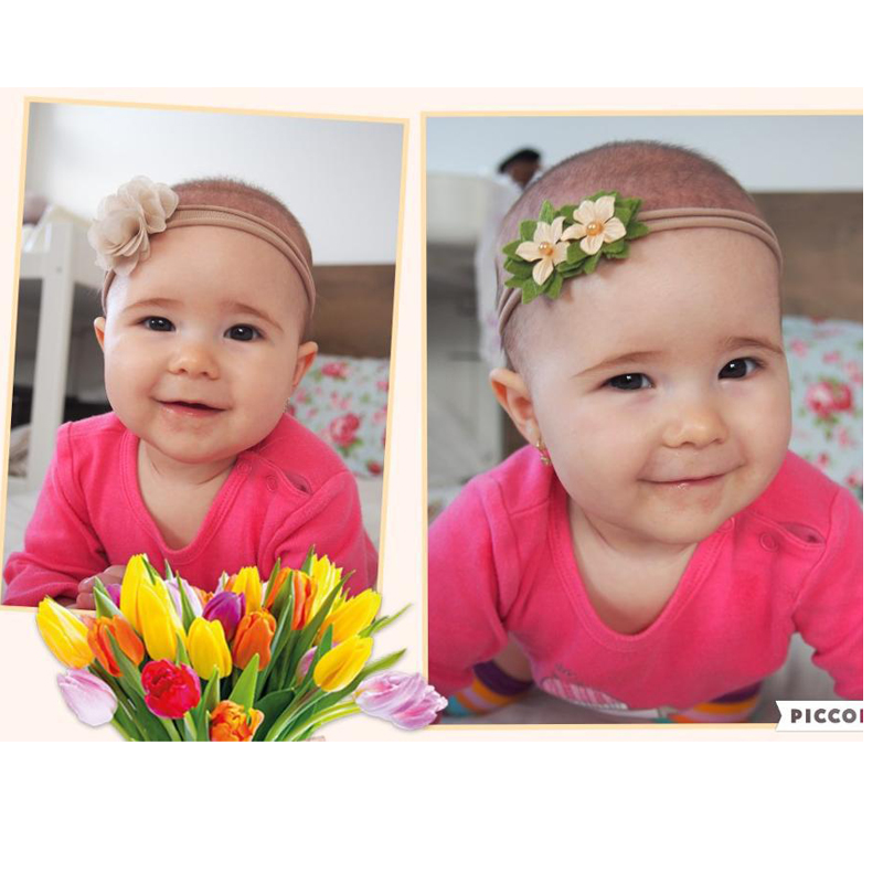 BalleenShiny 3 stk / lot Baby Girl Hairband Suit Hot Sale Spedbarn - Baby klær - Bilde 3