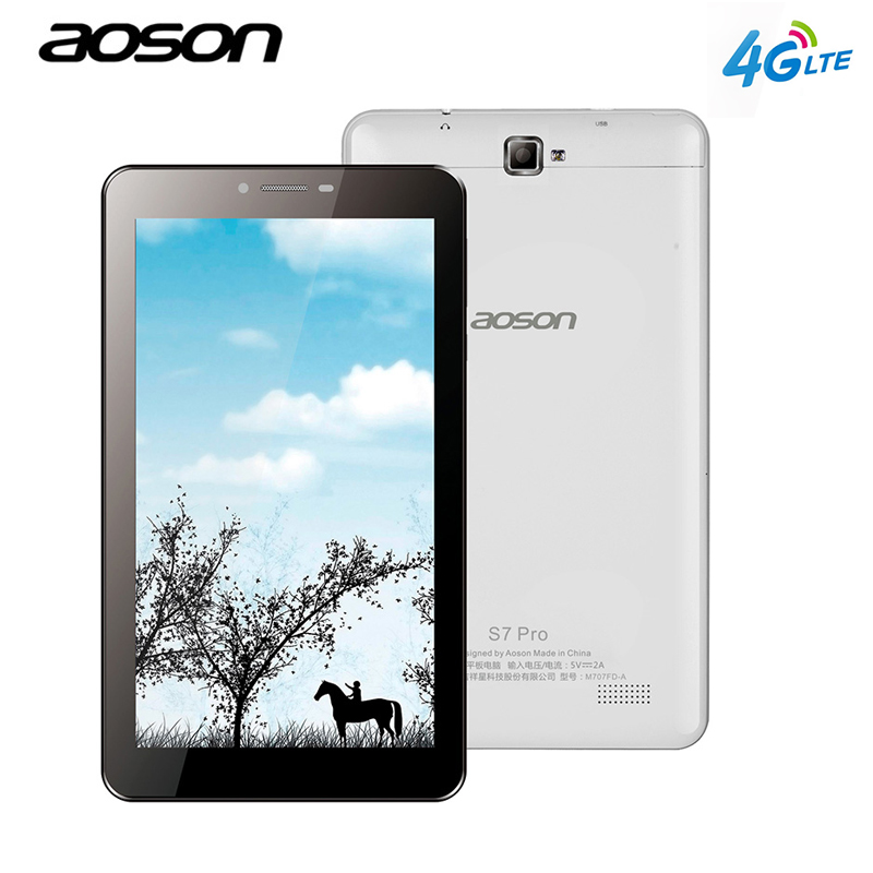Aoson S7 PRO 7 inch 4G LTE FDD Phablet 1GB 8GB HD IPS Android 6 0
