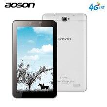 Новый AOSON S7 Pro 7 дюймов 4 г LTE-FDD Phablet 1 ГБ 8 ГБ HD IPS Android 6.0 телефонный звонок Планшетный ПК четырехъядерный процессор Dual Cam Dual SIM WiFi GPS